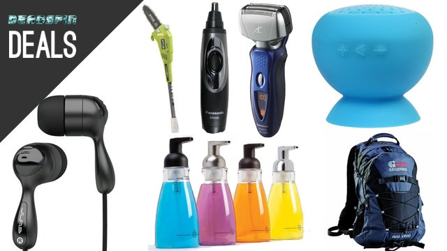 Deals: Panasonic Shaving Coupons, $6 Earbuds, Milk Frother, StubHub