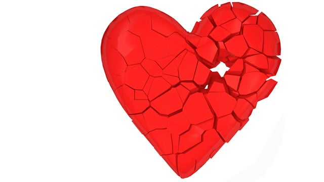 You Can Die of a Broken Heart. Happy Valentine's Day.