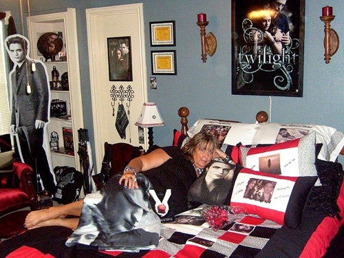 A Glimpse Inside The Rooms Of Twilight Super Fans