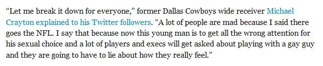 Very Highly Respected Sports News Site Cites Idiotic Deadspin Comment in Anti-Gay Hit Piece