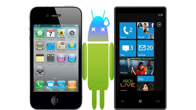 Is Android About to Get Crushed?