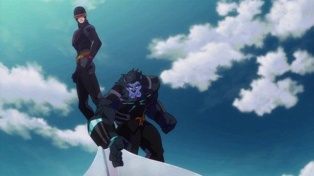 Los Superheroes de Marvel en versión anime