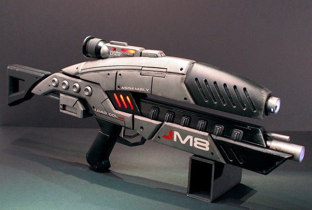 Meatspace Mass Effect M8 Avenger Assault Rifle