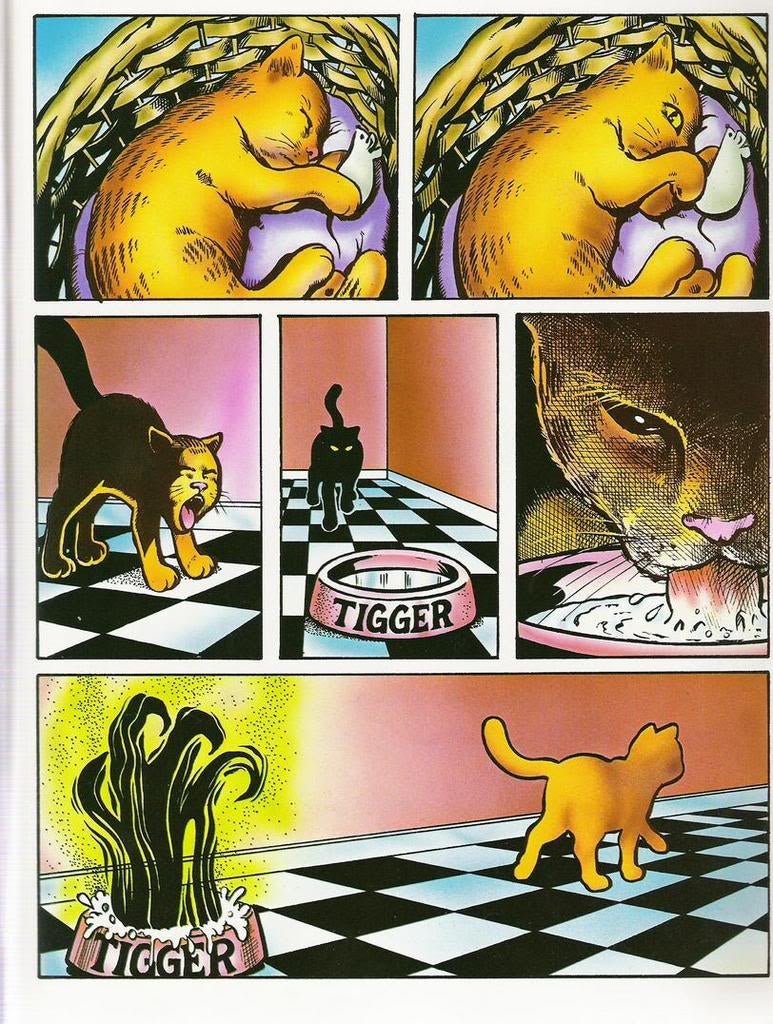 Holy crap, this is the most terrifying Garfield strip ever published