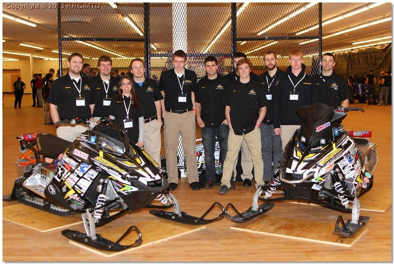 The Unknown SAE Competition: Clean Snowmobile