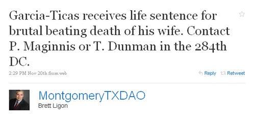 Texas Tweets Gallery