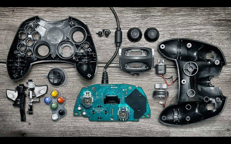 What's Inside A Video Game Control Pad