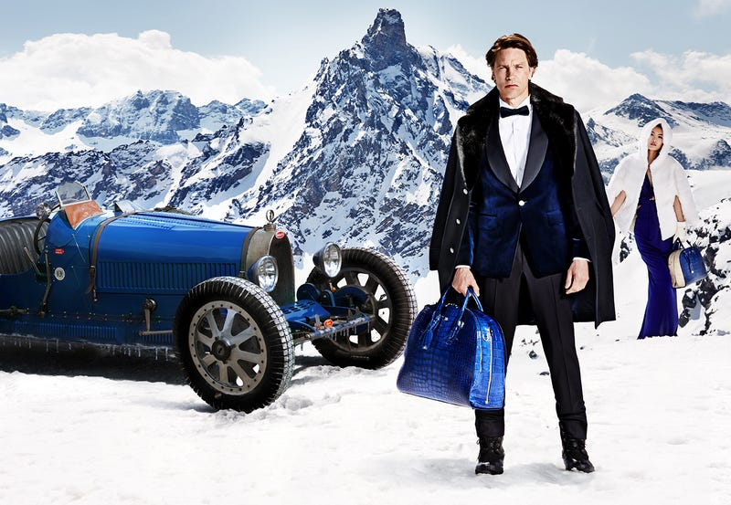Bugatti's Latest Advertisment Is A Confusing Photoshop Disaster
