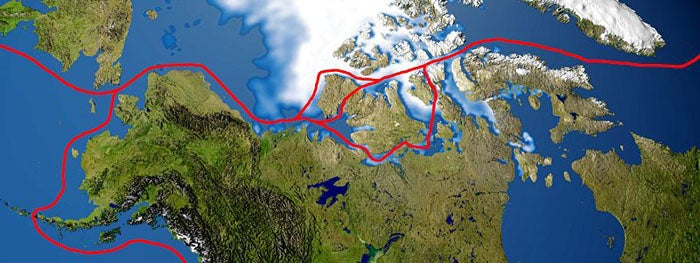 This Summer the Northwest Passage Opens, When the North Pole Melts