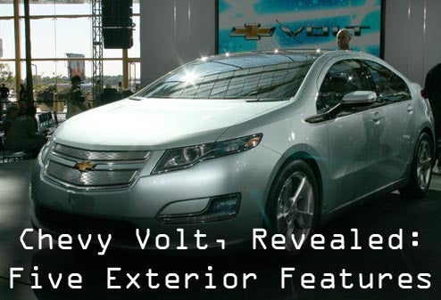 Chevy Volt: Five Key Exterior Features