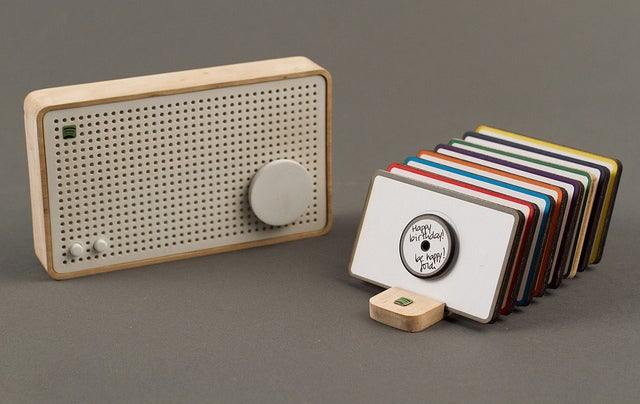 Spotify Box Radio Uses RFID Tagged-Discs to Get the Party Started