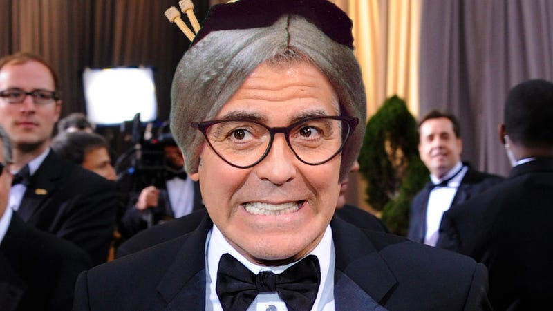 You Might Hear That Confirmed Bachelor George Clooney Is Gay, But Never That He's an Old Maid
