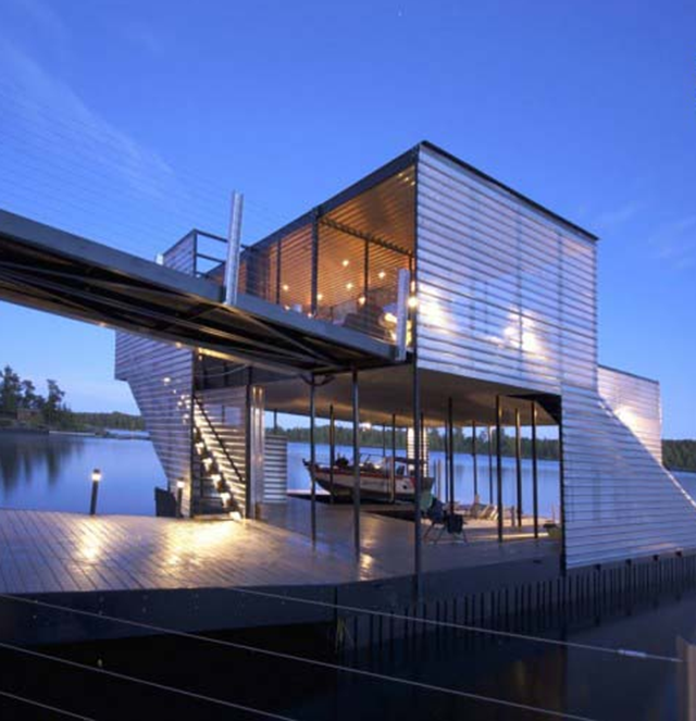 With a Dock This Awesome, Who Needs a House?