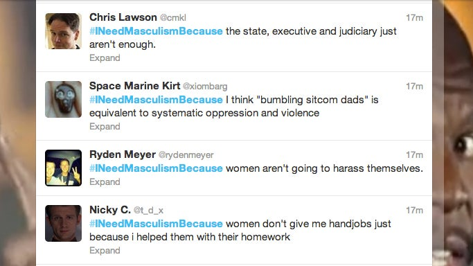 Feminists Are Savagely Trolling This 'Masculism' Hashtag on Twitter
