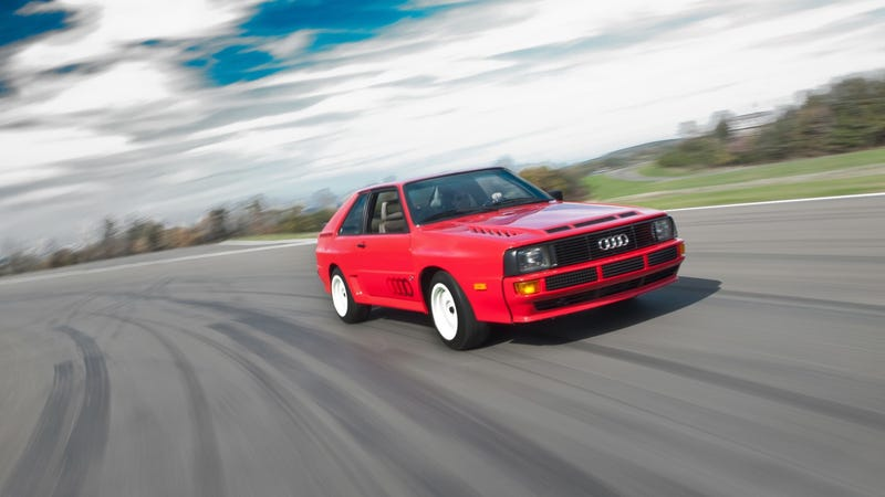 1984 Audi Sport Quattro: First Drive