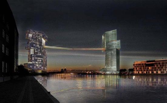 Architect Bitchfight: Which Crazy Mega Bridge Tower Will Dominate?