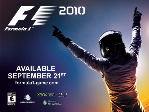 F1 2010 Revs Its Gaming Engines On 360®, PS3®, PC