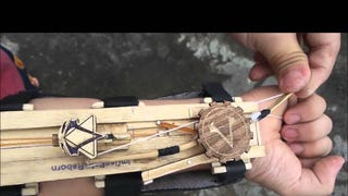 You Have To See This Wrist Dagger/Mini-Crossbow In Action ...
