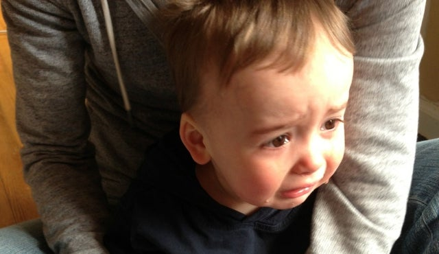 The Many Reasons This Guy's Son Is Crying Are All Guaranteed to Cheer You Up