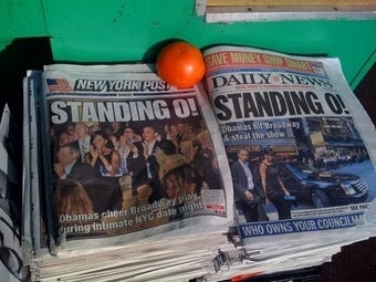 The Post and Daily News: One and the Same, For a Day