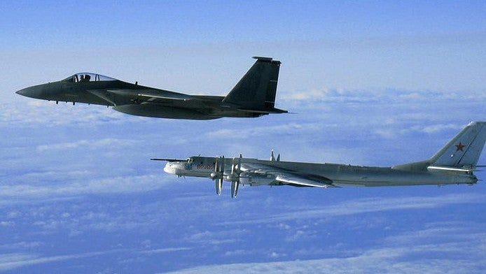 Intense Air-To-Air Intercepts Off The Coast of US, Russia & China