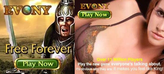 Evony Ads Go From Bad To Worse To Awesome