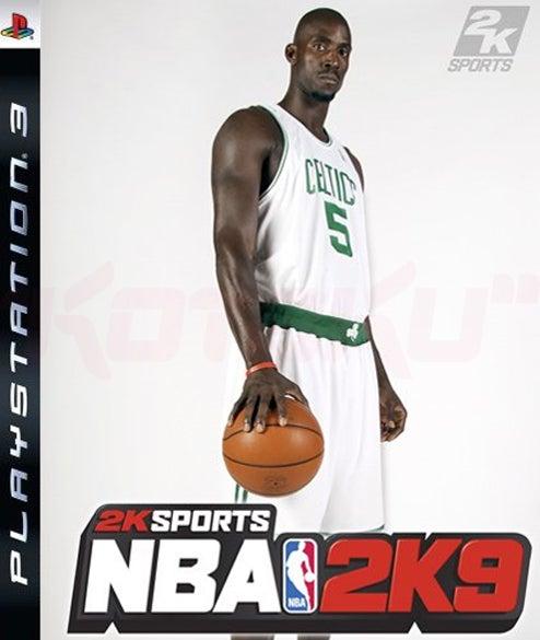 Kevin Garnett Lands Opportunistically On Cover Of NBA2K9