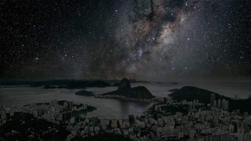 This Is How Cities Would Look at Night Without Lights