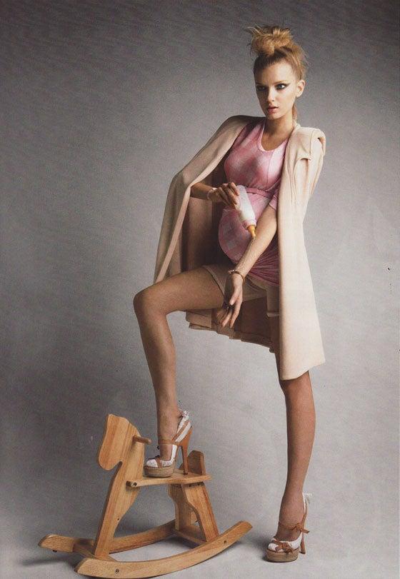 French Vogue And Ambivalent Modern Motherhood