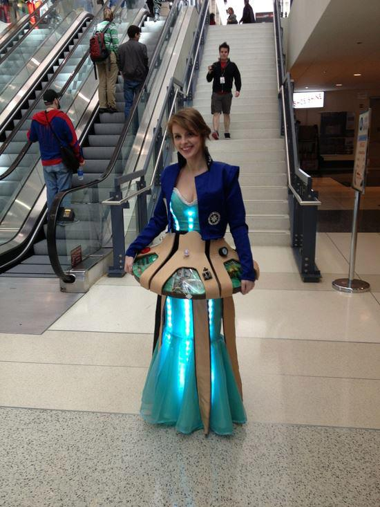 This might be the most creative Doctor Who cosplay we've ever seen