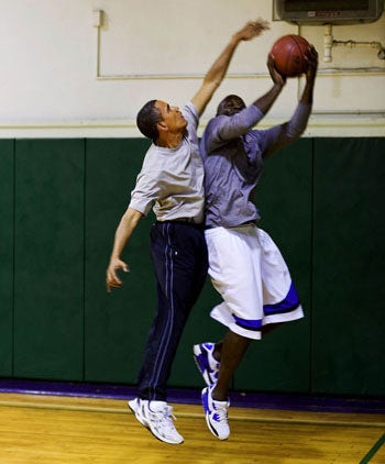 Obama's Body Man Gets Bodied Up