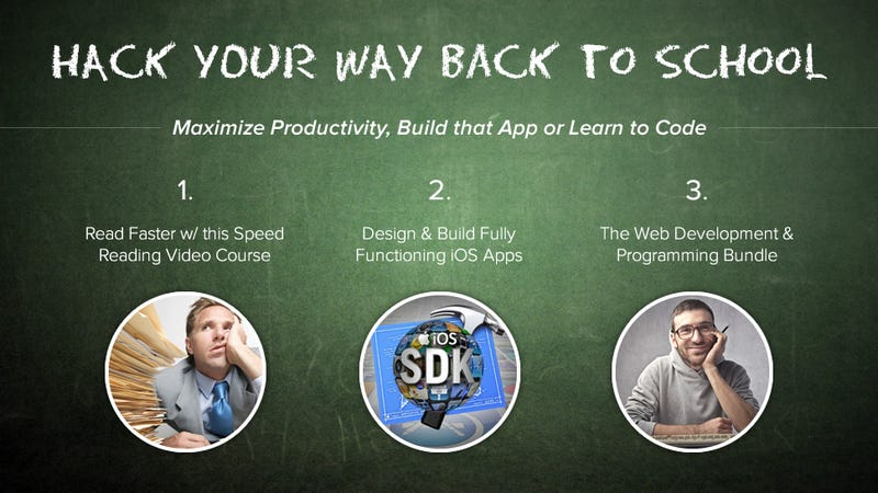 Hack Back To School with 50% off Udemy Courses