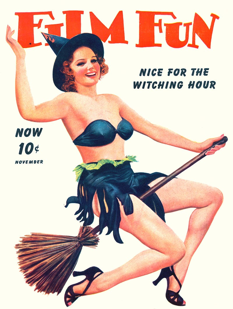 Get enchanted with the sexiest witch pin-ups of all time! [NSFW]