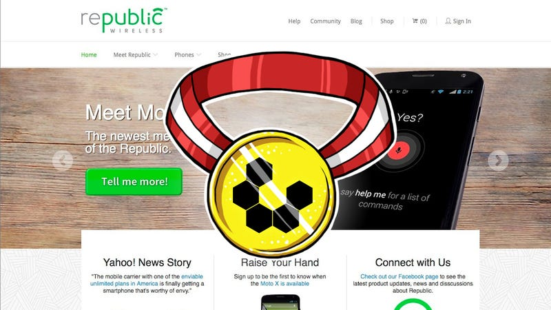 Most Popular Pre-Paid Cellphone Carrier: Republic Wireless