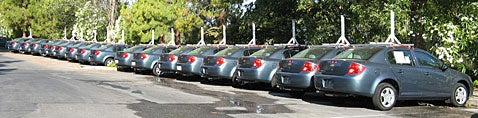 Google Streetview Camera Car Fleet Set to Invade America