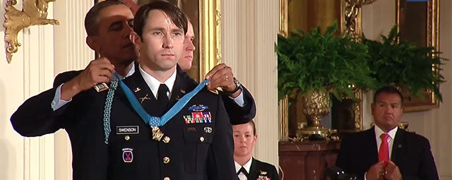 Soldier Awarded Medal Of Honor, And You Can Now See What He Did