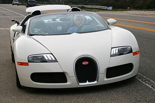 Hey, Look At Me! I'm Jay Leno! I Have A Veyron, Too!