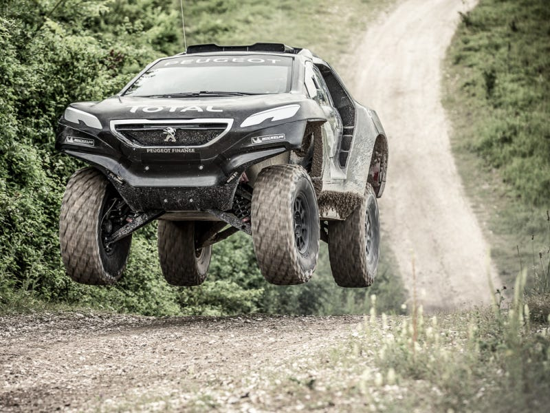 How This French 2WD Diesel Hatchback Just Might Dominate Off-Road Racing