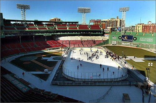 Free Skating At Fenway? It'll Cost You