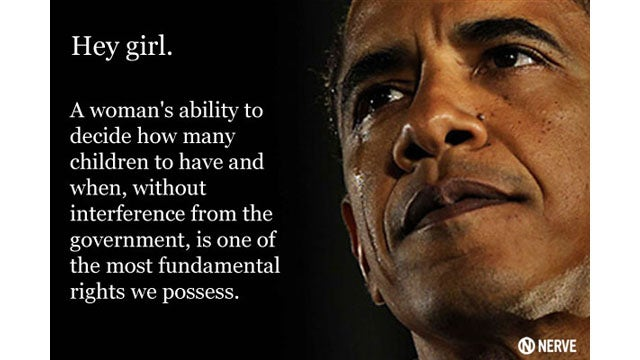 Feminist Barack Obama Is the One Good Thing to Come Out of the Akin Debacle