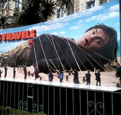 First Look At Jack Black In Gulliver's Travels