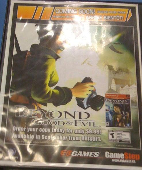 Ubisoft Re-Releasing Beyond Good & Evil?