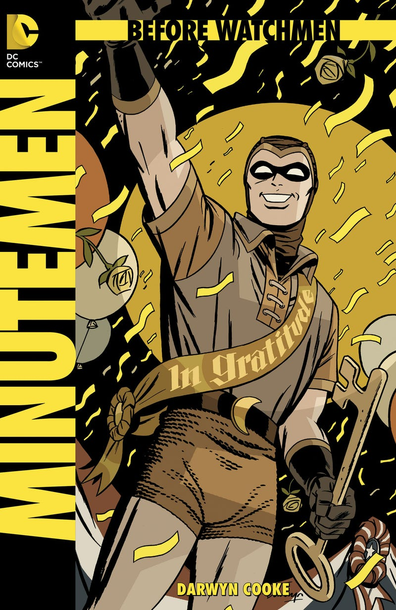 'I Did It Thirty-Five Minutes Ago': Before Watchmen's Prequel Problem
