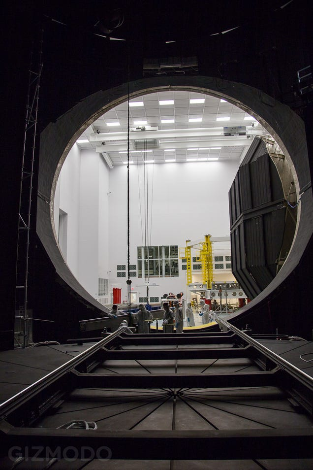 Inside the Chamber Where NASA Recreates Space on Earth