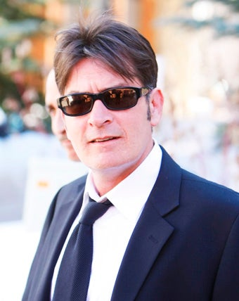 Charlie Sheen Gets Ready to Go to Jail