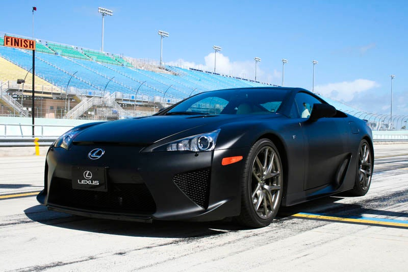 Behind The $400K Wheel Of The Lexus LFA