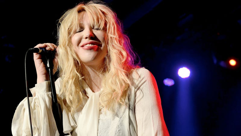 Courtney Love Is Feeling All Leader of the Free World