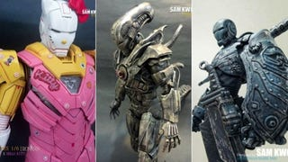 Incredible Customized Iron Man Figures