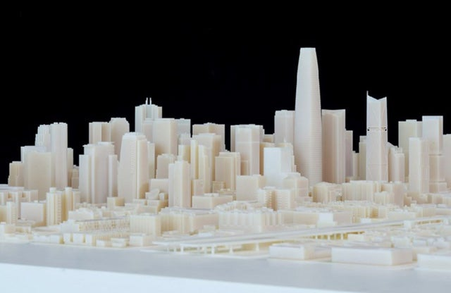 See the Towering Future of San Francisco's Skyline In a 3D-Printed Model