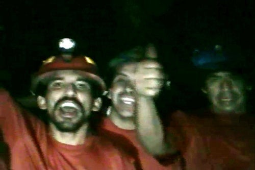 Trapped Chilean Miners Finally Get Some Cigarettes